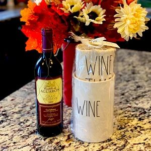 NWT HTF Rae Dunn Wine Chiller w/Wine Time Tote